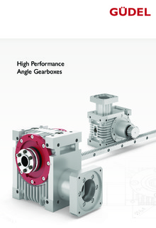 High Performance Angle Gearboxes